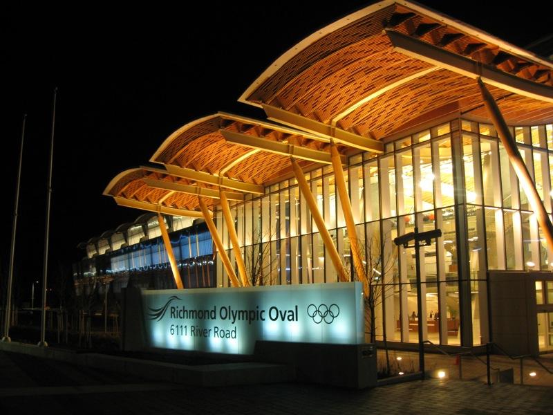 Óvalo Olímpico, sede del patinaje de velocidad