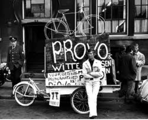 Programa White Bikes de los provos