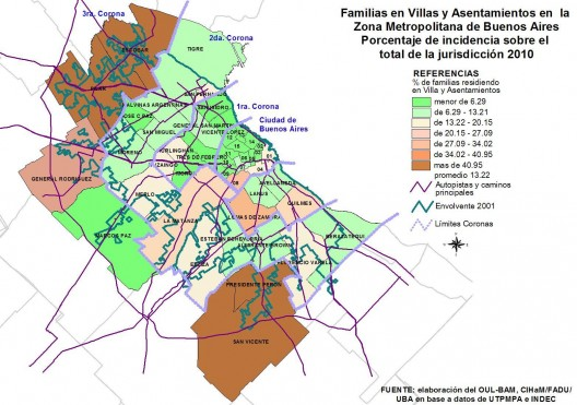 villas de la provincia de buenos aires: