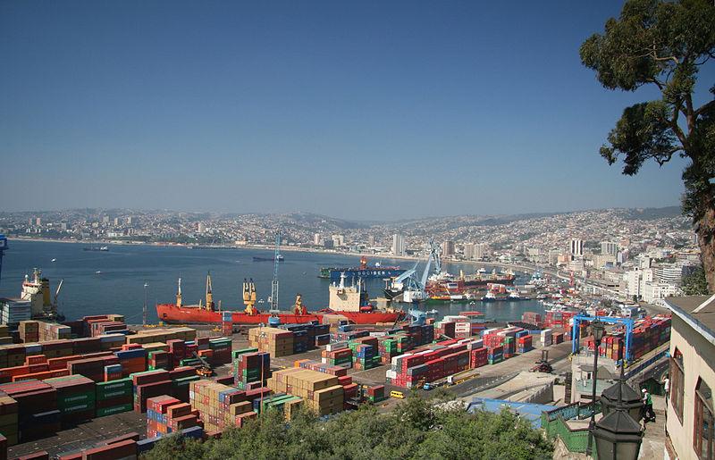 Puerto de Valparaíso © Wikimedia Commons
