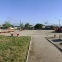 Antes. Plaza Sol Naciente de El Castillo, La Pintana