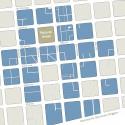 "Plano Galerías del Centro de Santiago. © Plataforma Urbana. Realizado en base a tesis PUC: ""Revitalización de las galerías de Santiago Centro"", M.Angosto (2008)"