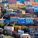 Ciudades chilenas en el Ranking: Santiago, Valparaíso y Viña del Mar.
