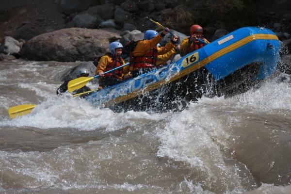 Rafting en Río Maipo
