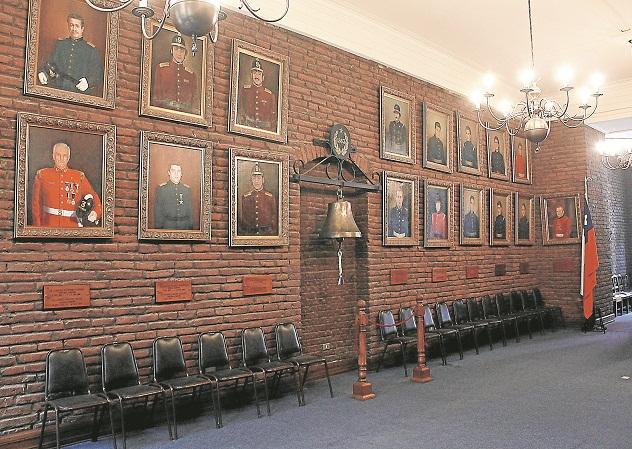 Restauraciòn Cuartel de Bomberos de Santiago