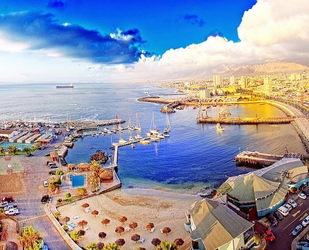 Muelle de Antofagasta, II Región de Antofagasta