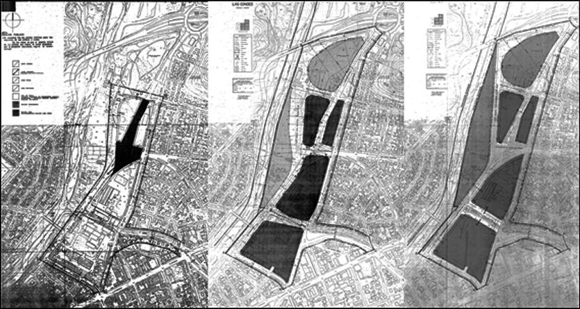Planos Seccional CCU RM-PIS-02/80, RM-PIS-84/1 y RM-PIS-88/19 respectivamente. Fuente: Autor