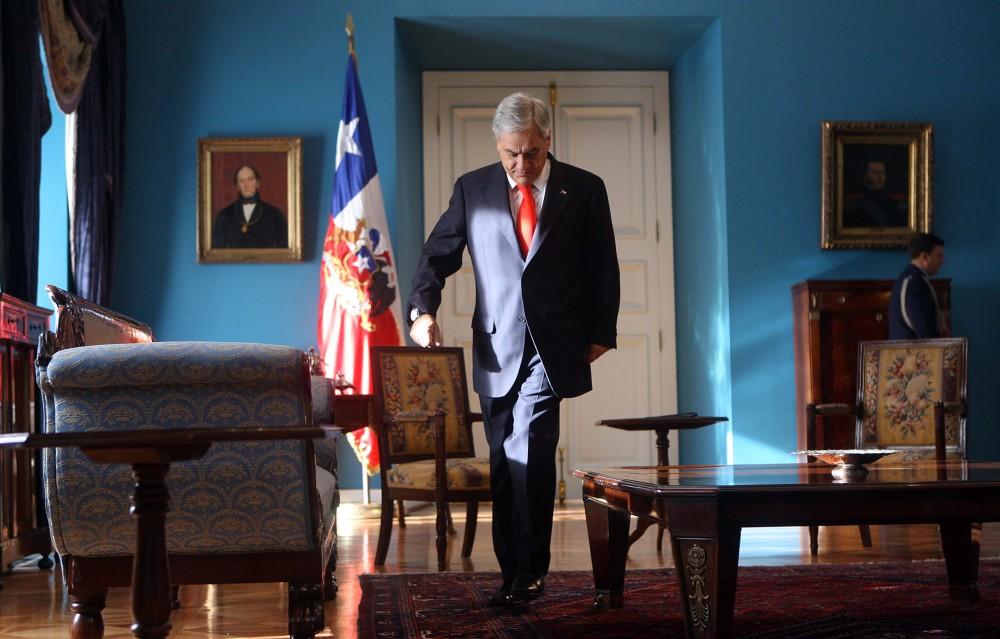 Piñera con Canciller Brasileño