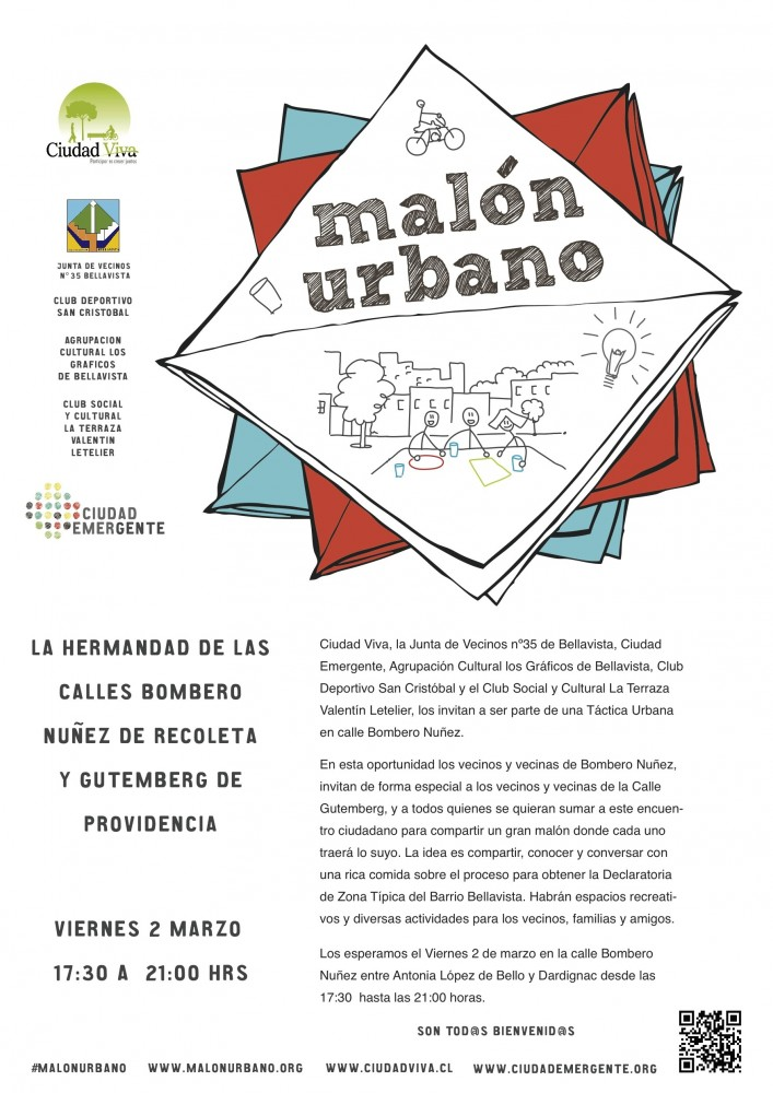 AficheMalonUrbano NO JV13