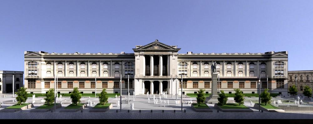 plaza tribunales