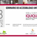 Seminario Accesibilidad Universal. Región de Tarapacá. Iquique