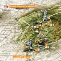 Mapa del Parque Metropolitano de Santiago. Via parquemet.cl