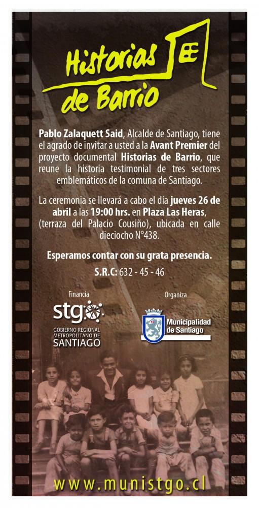 INVITACION HISTORIAS DE BARRIO