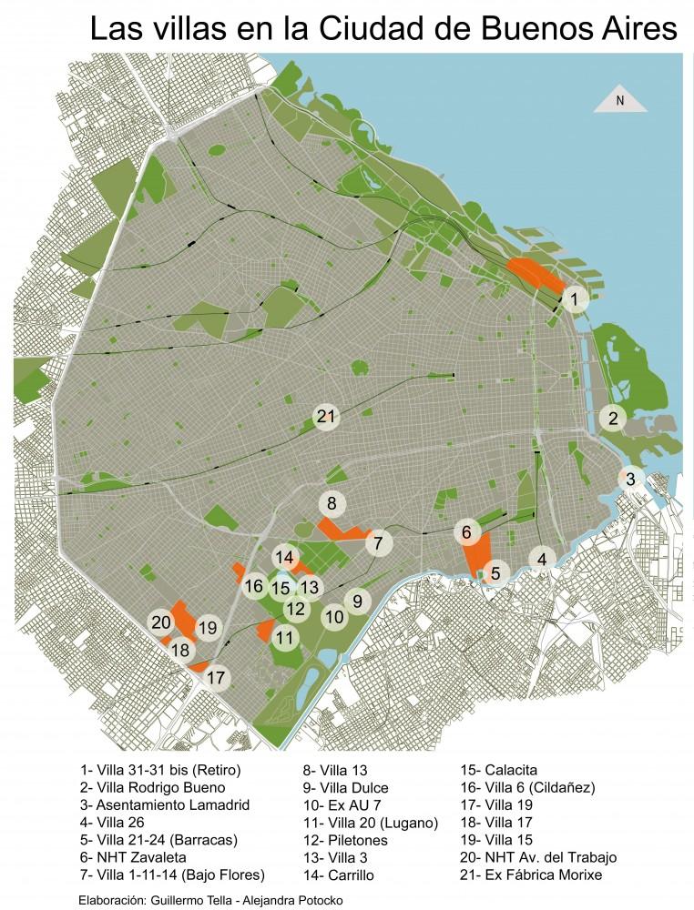 Como integrar las villas a la ciudad 6 plataforma urbana for Villas en buenos aires