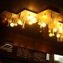 Lámparas de diseño de la época (Rescatada de edificio original) © Plataforma Urbana.