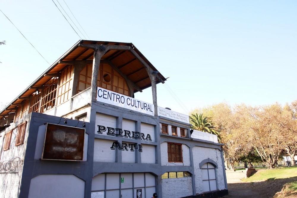 Centro Experimental Perrera Arte. Vía perrerarte.blogspot.com