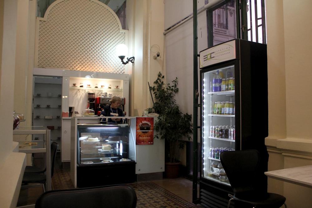 Cafetería. © Plataforma Urbana.