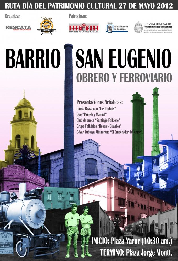 Afiche Ruta San Eugenio
