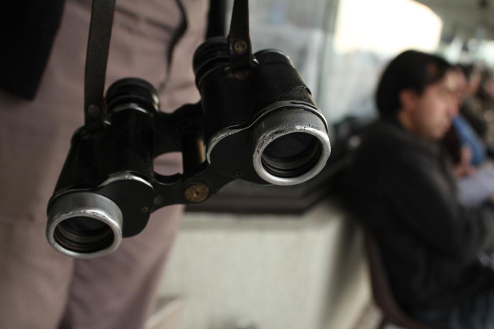 Binoculares antiguos. © Plataforma Urbana.