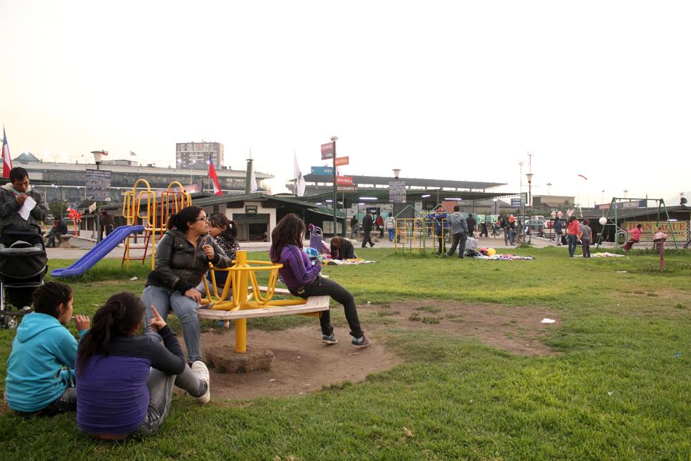 Zona de juegos infantiles. © Plataforma Urbana.