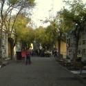 Caminata fúnebre por las calles del cementerio. © Plataforma Urbana.