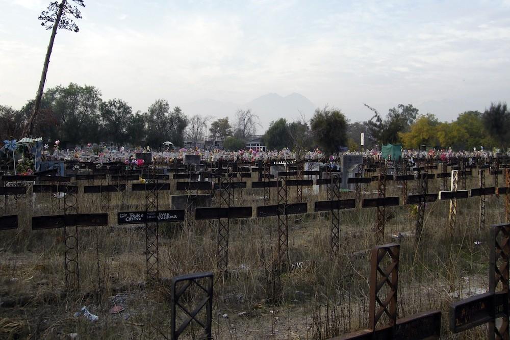 Patio146, el más antiguo del cementerio. © Plataforma Urbana.