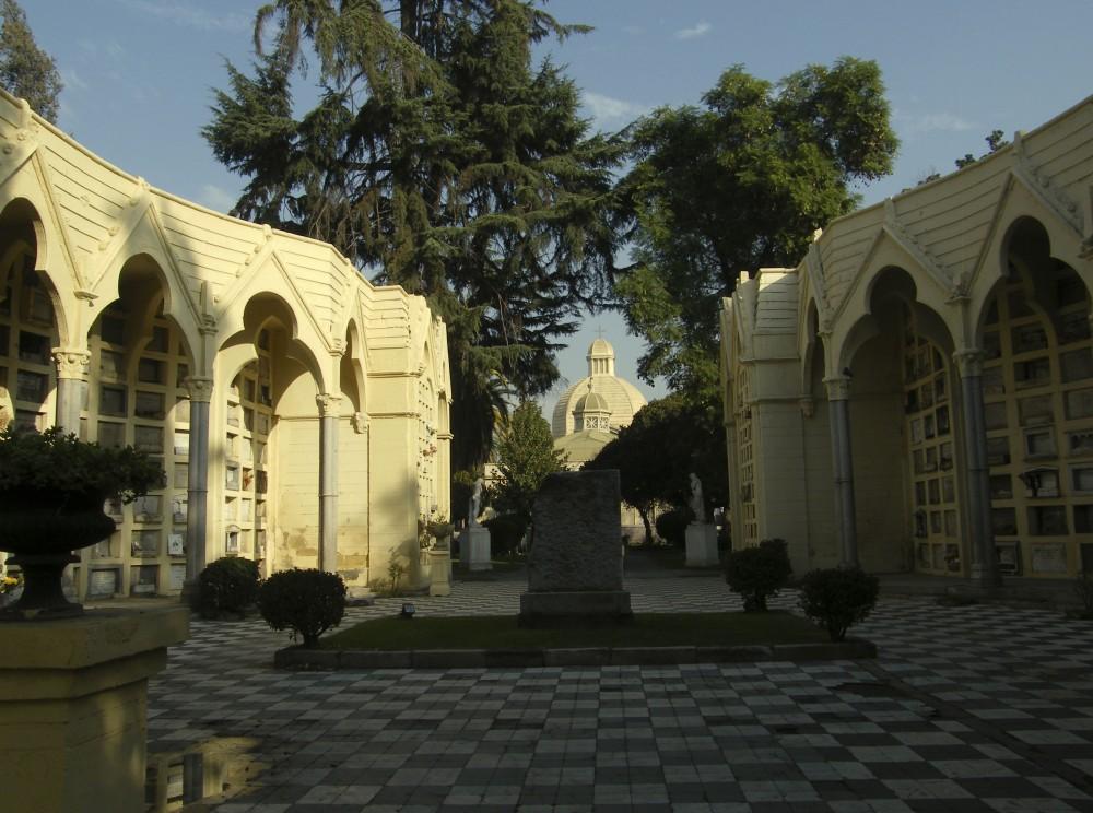 Primer lugar donde fue enterrado Bernardo O'Higgins en 1869. En 1979 su restos fueron trasladados a XXXXX.