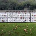 Memorial Ejecutados Políticos. Patio 102, cercano al acceso por calle Valdivieso. © Plataforma Urbana.