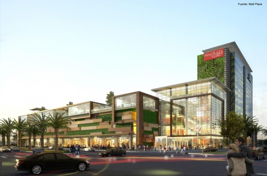 Mall plaza ega a la nueva portada metropolitana de la for Centros comerciales en santiago de chile