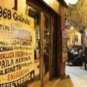 Carta de la comida típica chilena que ofrece el restaurante Galindo, en calle Constitución. © Plataforma Urbana.