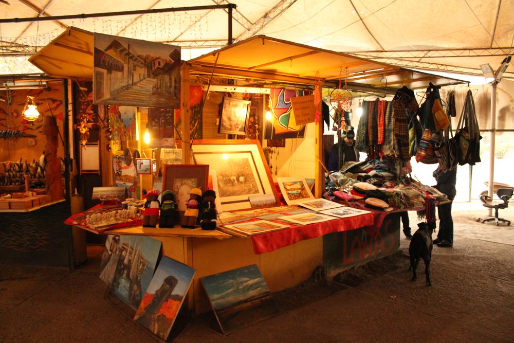 Feria de Artesanos Productores Poeta Juan Gómez Rojas. © Plataforma Urbana.