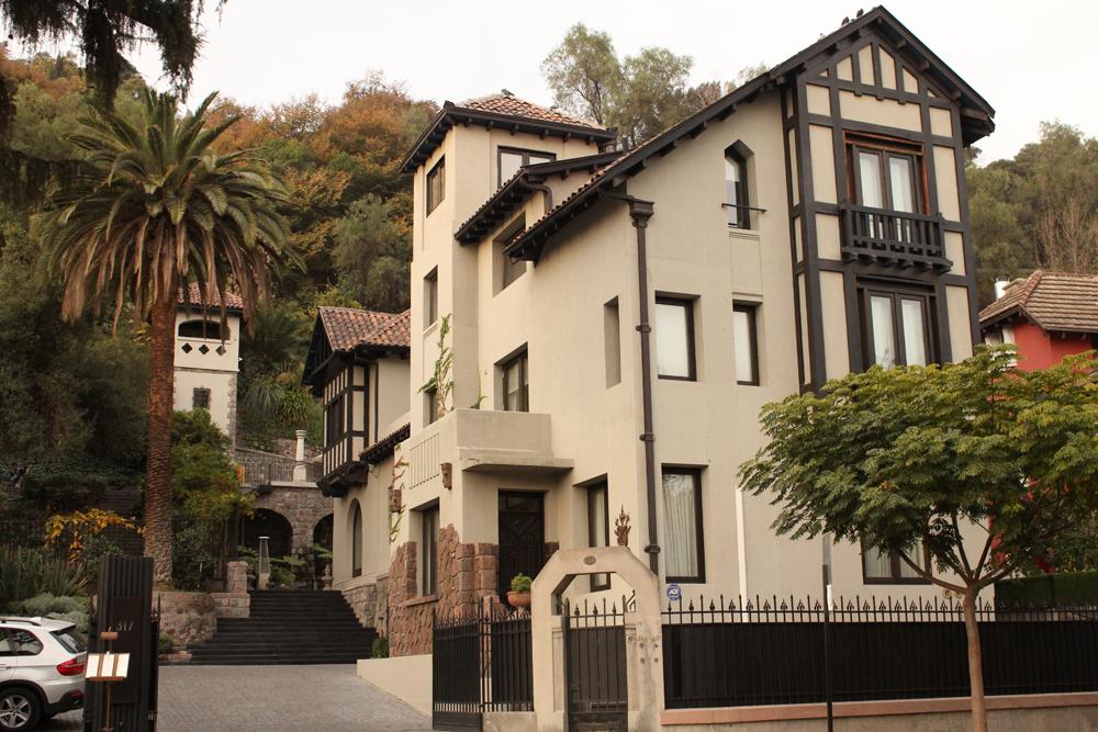 El lujoso Hotel Boutique The Aubrey en la calle Constitución al llegar al cerro. En 2011 ganó el primer lugar de una crítica internacional del diario The New York Times.© Plataforma Urbana.