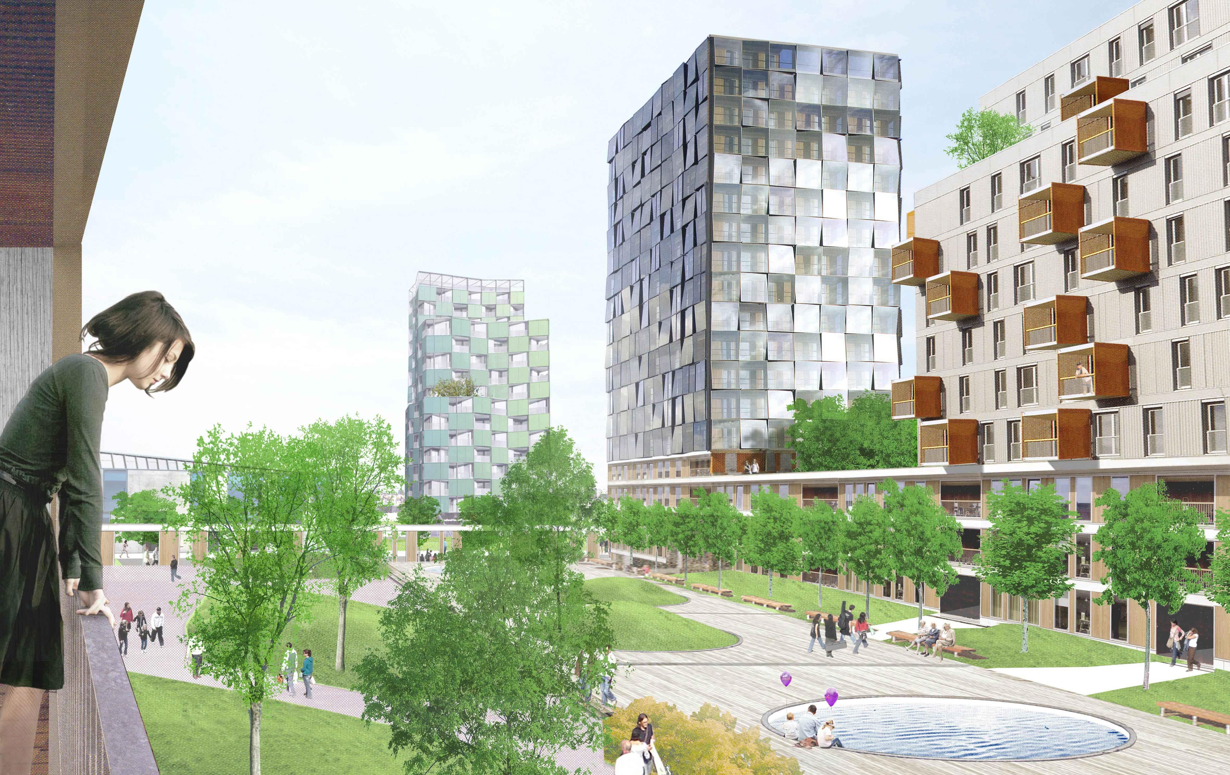 Prolongaci n de la castellana la ciudad dentro de la for Plataforma de arquitectura