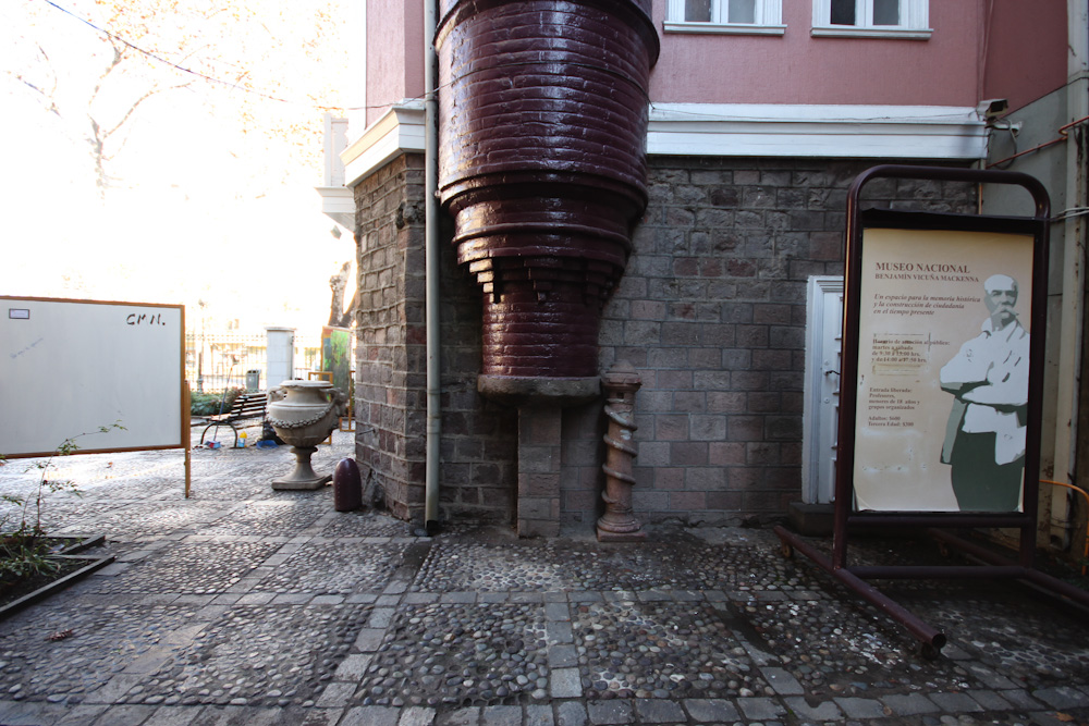 La base del torreón está formada por un molino que pertenecía a La Quintrala. © Plataforma Urbana.