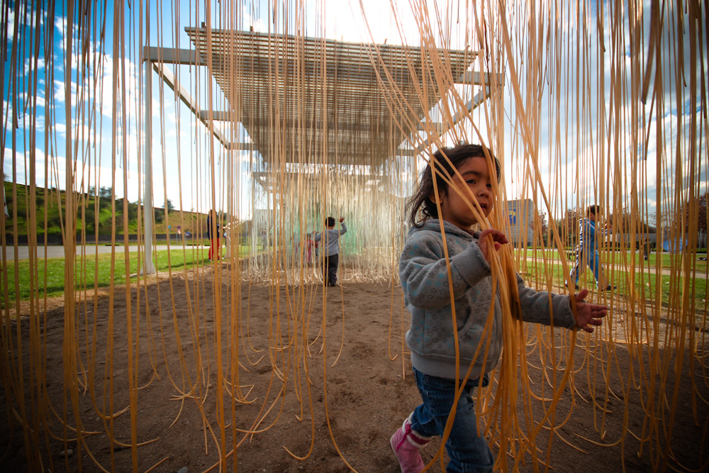 Juego de Penetración al exterior del MIM. © Plataforma Urbana.