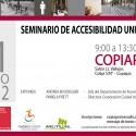 Seminario de Accesibilidad Universal en Copiapó