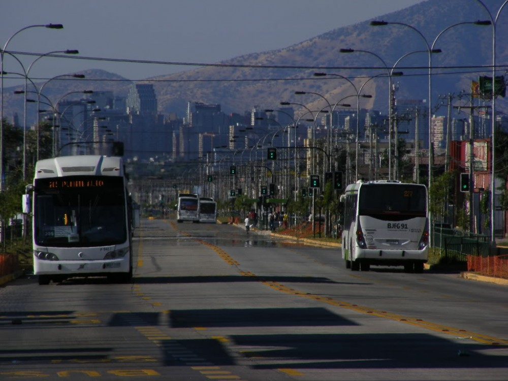 Corredor Transantiago Santa Rosa