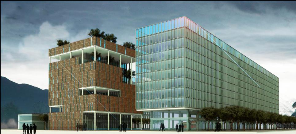 Edificio Consistorial © Municipalidad La Florida