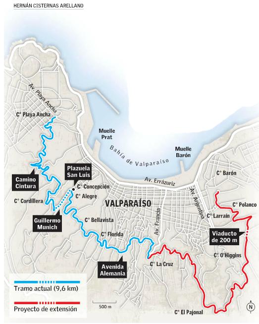 42 cerros Valparaíso