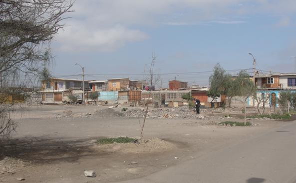 Barrios vulnerables
