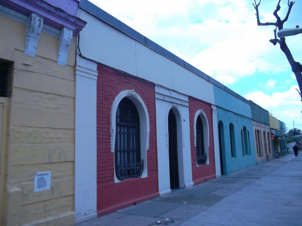 Casas del Arq. Luciano Kulczewski descubiertas en calle Santo Domingo