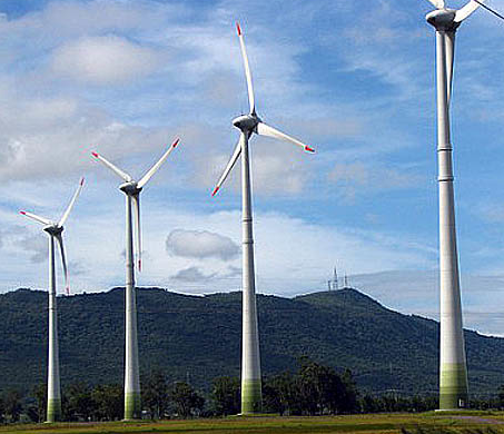 parque eólico de Endesa en Renaico