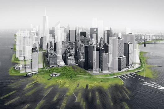 Plan exhibido hace 2 años en el MOMA para evitar los daños producidos por una tormenta en NY