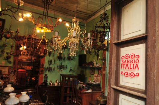 Barrio Italia Santiago Chile