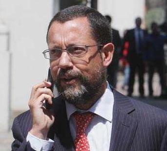 subsecretario de Minería, Francisco Orrego