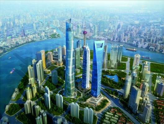 Shanghai Tower - Cortesía de Gensler