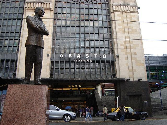 Figura 1 - El barrio gardeliano de Abasto de Buenos Aires
