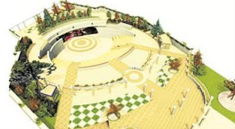 Anfiteatro griego Parque Juan XXIII