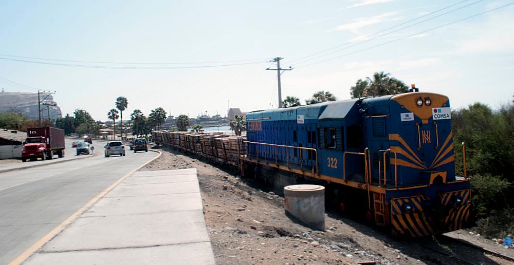 Tren Arica .- La Paz