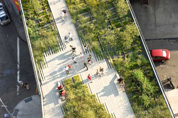 The High Line, Nueva York. Fuente imagen: landarchs.com